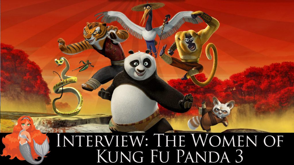 THE WOMEN OF KUNG FU PANDA 3