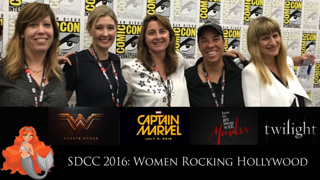 Women Rocking Hollywood panel at San Diego Comic-Con 2016
