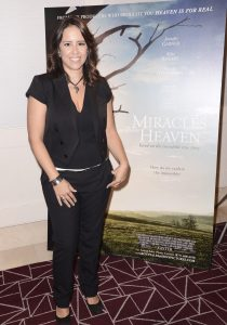 "WEST HOLLYWOOD, CA - March 4th 2016 Director Patricia Riggen seen at Columbia Pictures ""Miracles From Heaven"" Photo Call at The London"