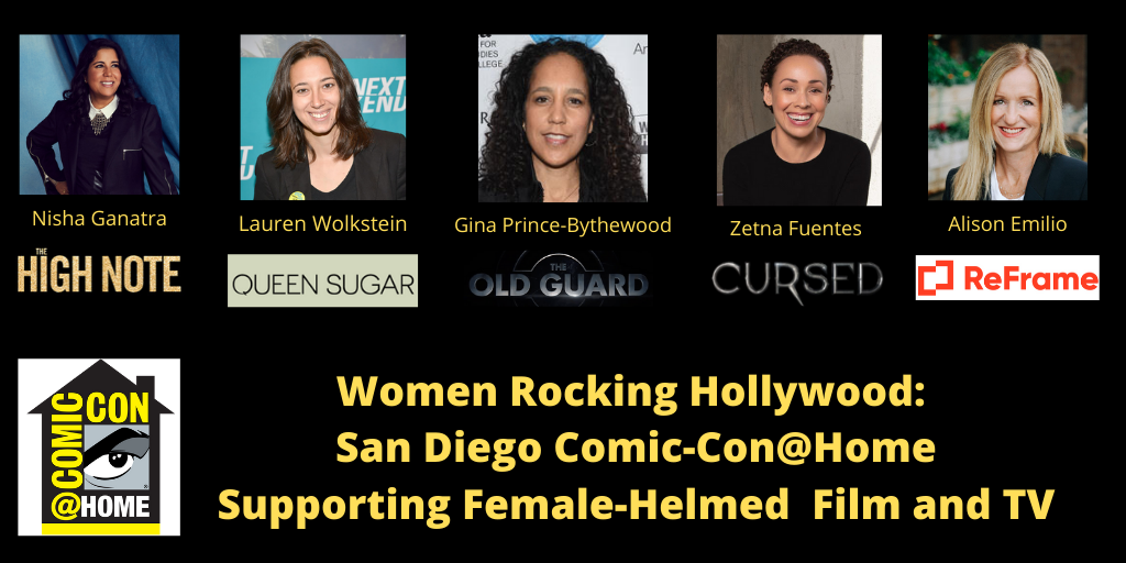 Women Rocking Hollywood_ San Diego Comic-Con@Home Twitter Post